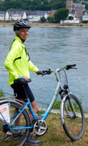 pam portrait bicycle